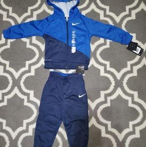 Boys Nike set zip up hoodie and pants